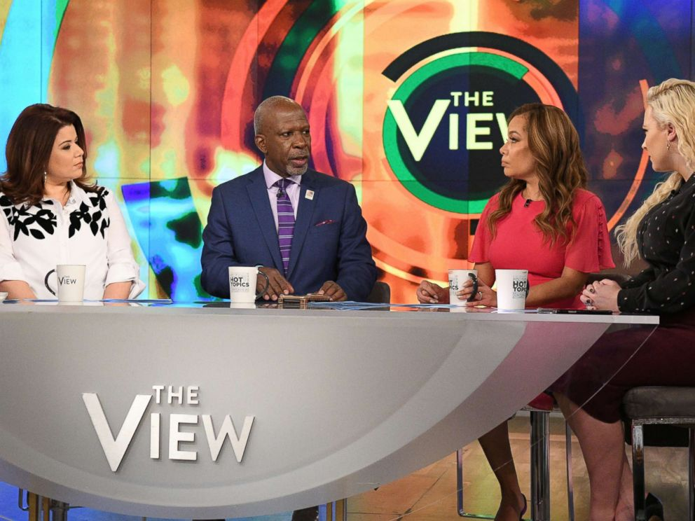 PHOTO: Dan Gasby joined The View Thursday to discuss his relationship with a new woman while also caring for his wife B. Smith, who has Alzheimers.