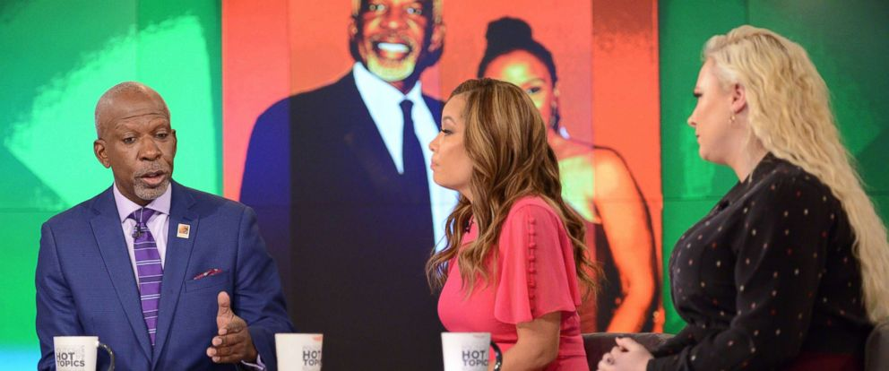"""PHOTO: Dan Gasby joined """"The View"""" Thursday to discuss his relationship with a new woman while also caring for his wife B. Smith, who has Alzheimers."""