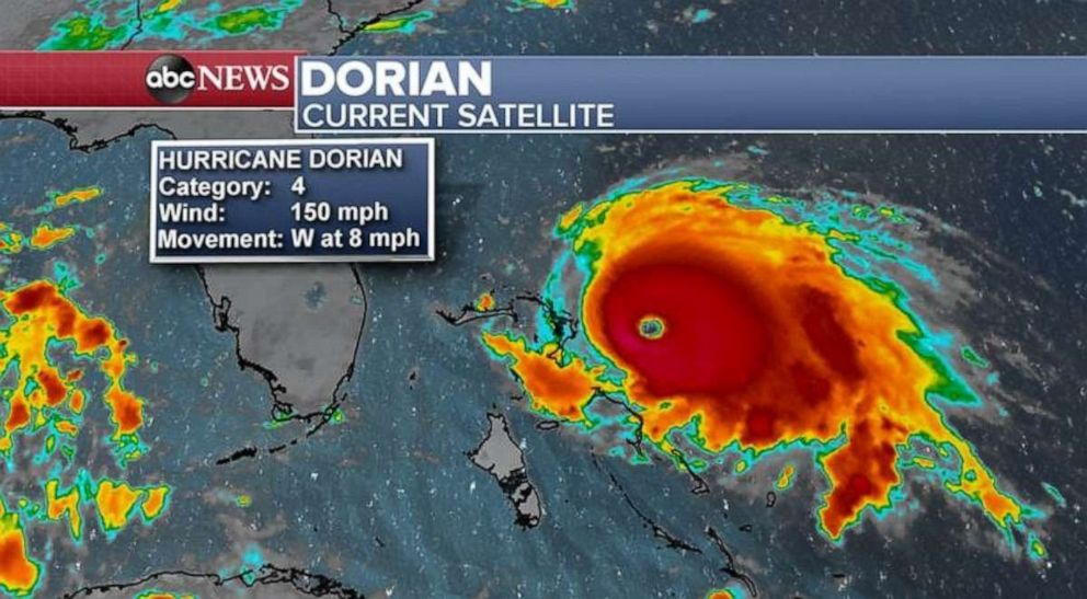 After Hurricane Dorian's direct hit on Bahamas, a scene of 'total devastation'