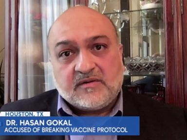 Fired Texas doctor defends giving away expiring COVID-19 vaccine doses