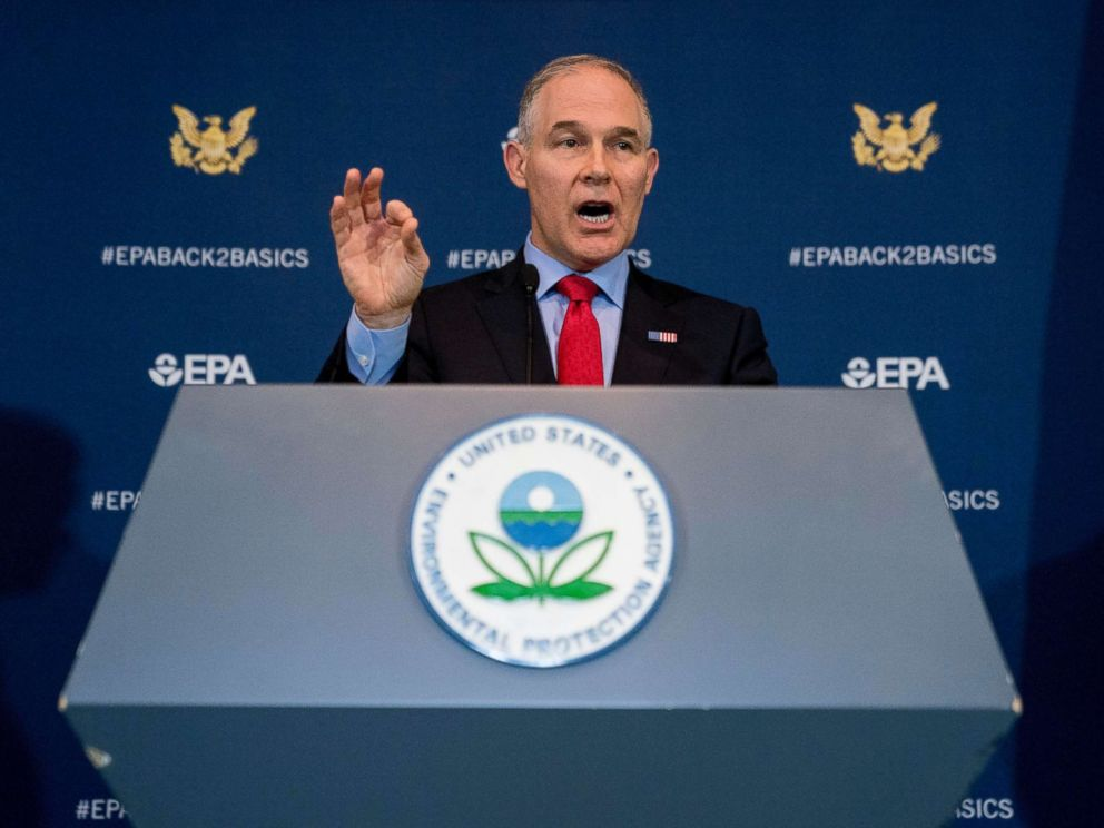 EPA chief recorded a single, one-hour meeting on day 1 of Morocco trip