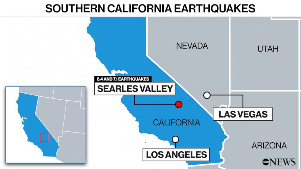 PHOTO: Southern California earthquakes