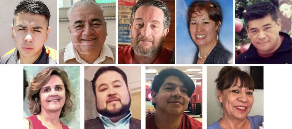 PHOTO: Some of the people who died in the El Paso shooting, Aug. 3, 2019.