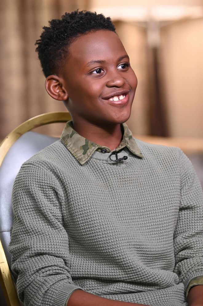 Evan Alex speaks with ABC News Chris Connelly about playing Jason Wilson in Us.