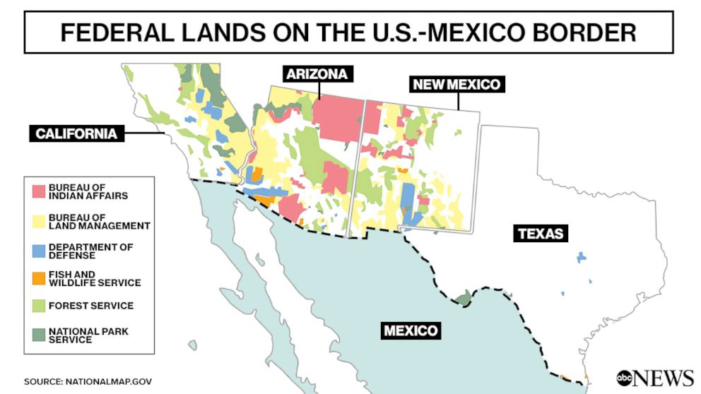 PHOTO: federal lands on the U.S.-Mexico border