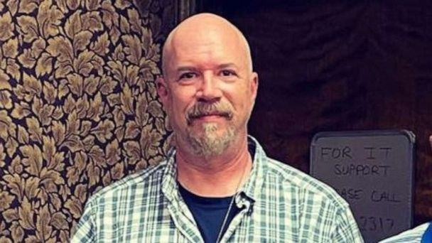 PHOTO: Greg Ferency, an FBI Task Force Officer and 30-year police department veteran was shot and killed in the line of duty after being ambushed outside an FBI building in Terre Haute, Indiana, on Wednesday, July 7, 2021.