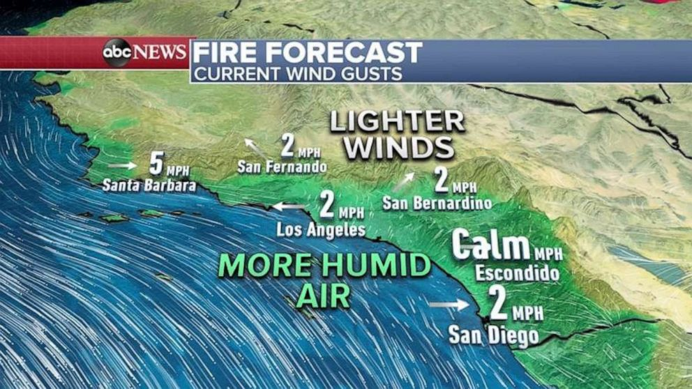 PHOTO: All Red Flag Warnings or Wind Alerts have expired because of higher humidity and lower wind speeds.