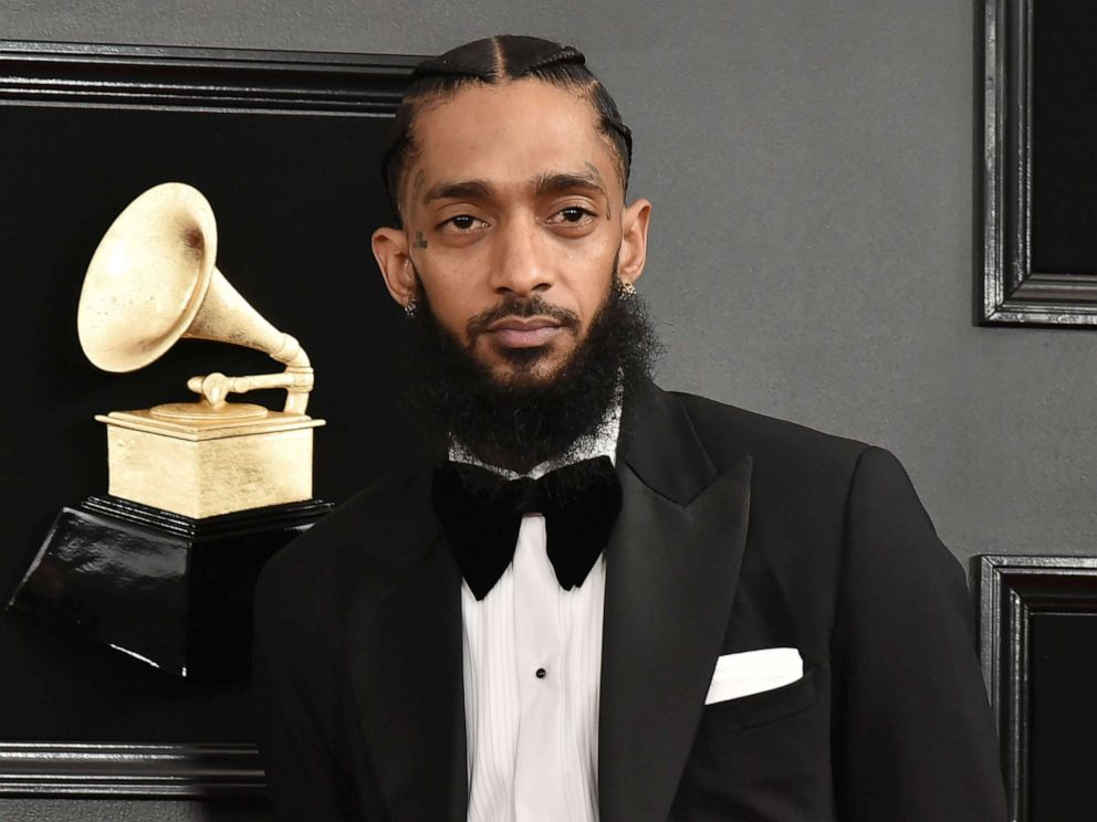 PHOTO: LOS ANGELES, CALIFORNIA - FEBRUARY 10: Nipsey Hussle attends the 61st Annual Grammy Awards at Staples Center on February 10, 2019 in Los Angeles, California.