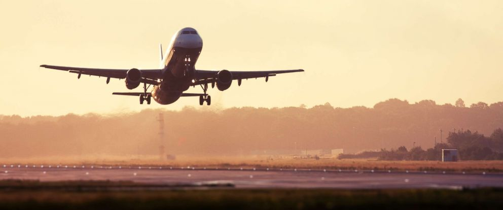 PHOTO: An airplane takes off from the runway in this undated stock photo.