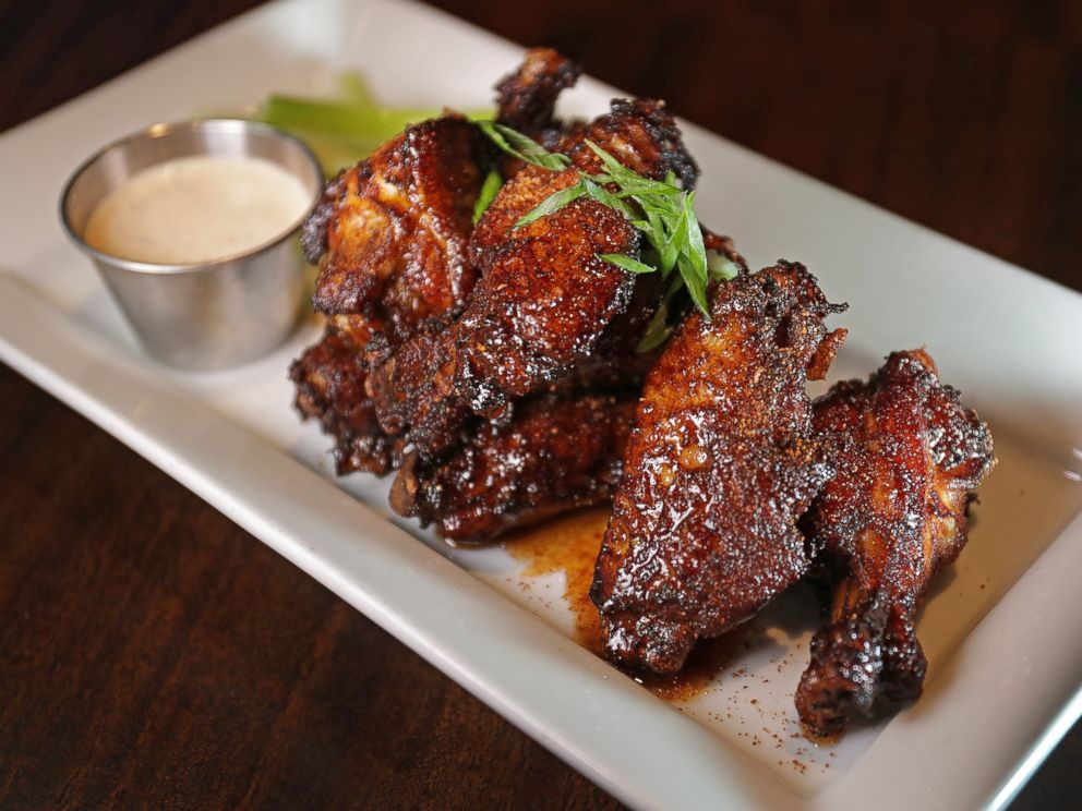PHOTO: Dirty Chicken Wings pictured at Tempo Restaurant in Waltham, MA.