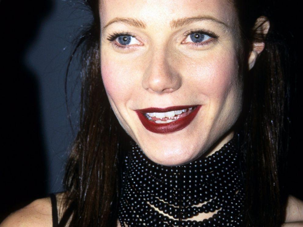 PHOTO: Gwyneth Paltrow wearing a choker in New York, Dec. 8, 1999.