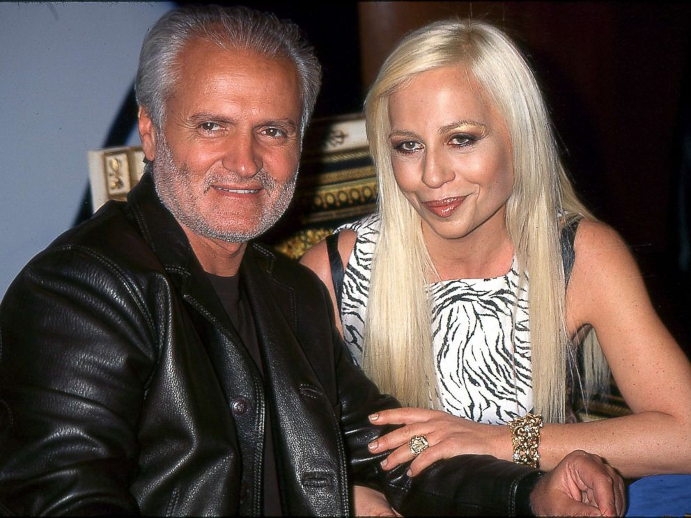 PHOTO: Gianni and Donatella Versace in New York City.