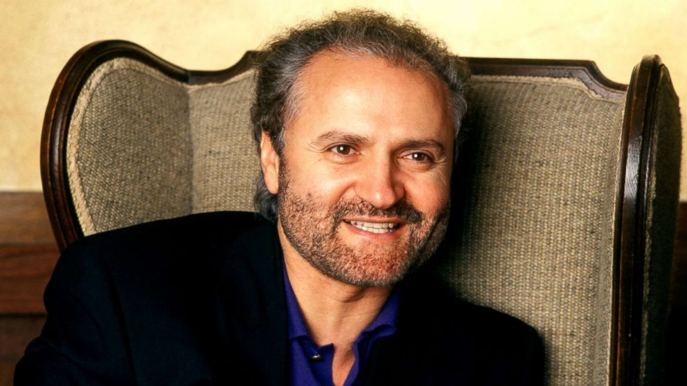 Italian fashion designer Gianni Versace in 1991.