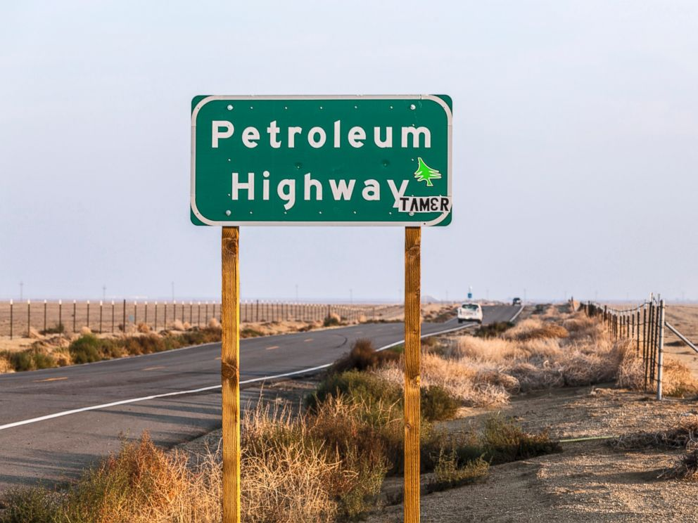 PHOTO: The Petroleum Highway in the San Joaquin Valley, California.