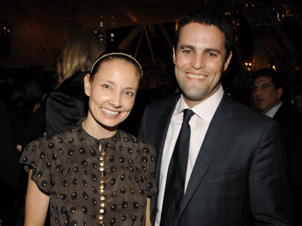 PHOTO: Marina Krim and Kevin Krim attend Tribeca Film Institute Benefit Screening of Everybodys Fine - Party at Tavern on the Green, Dec. 3, 2009 in New York City.
