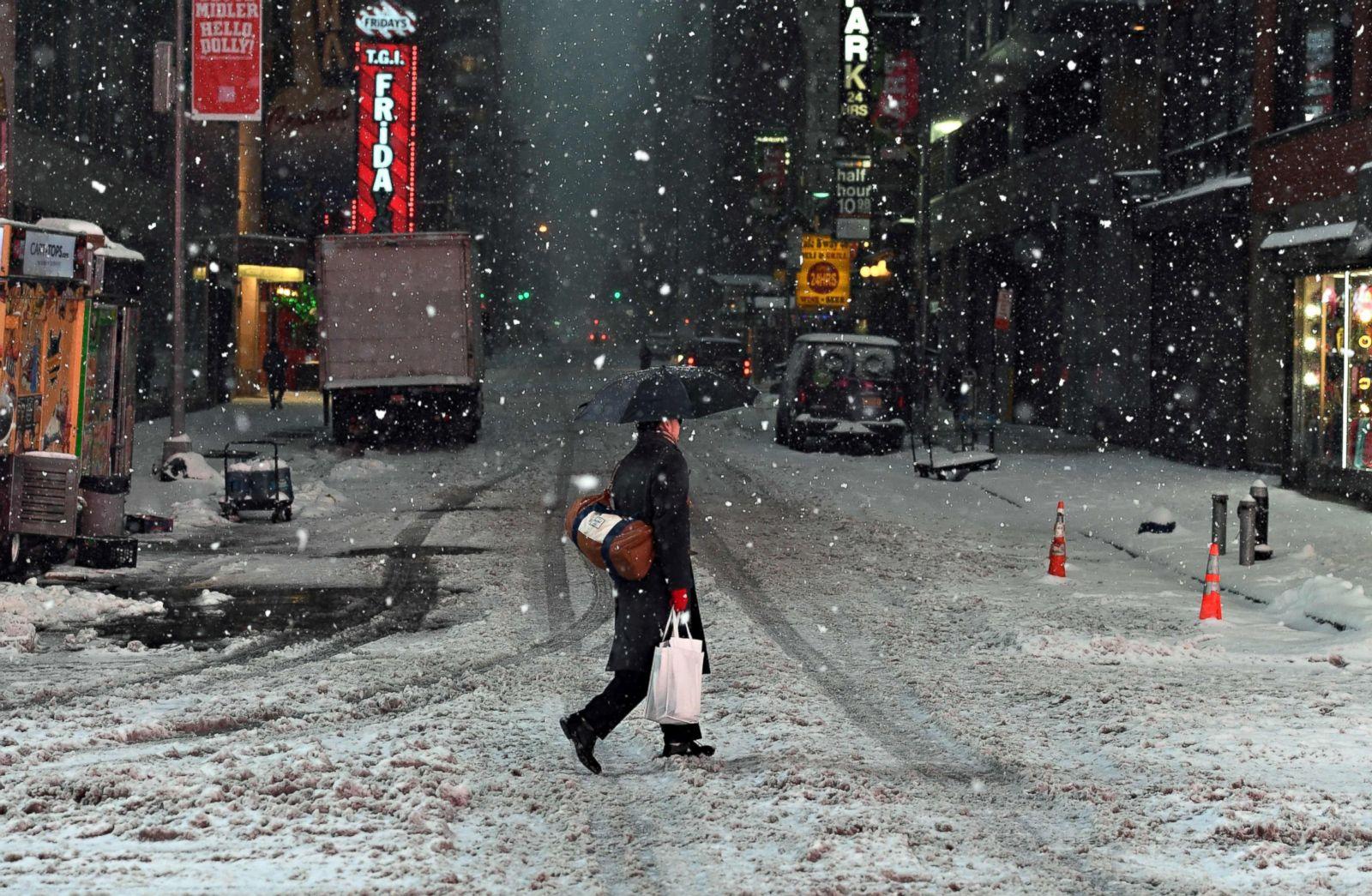 Brutal first winter storm kills