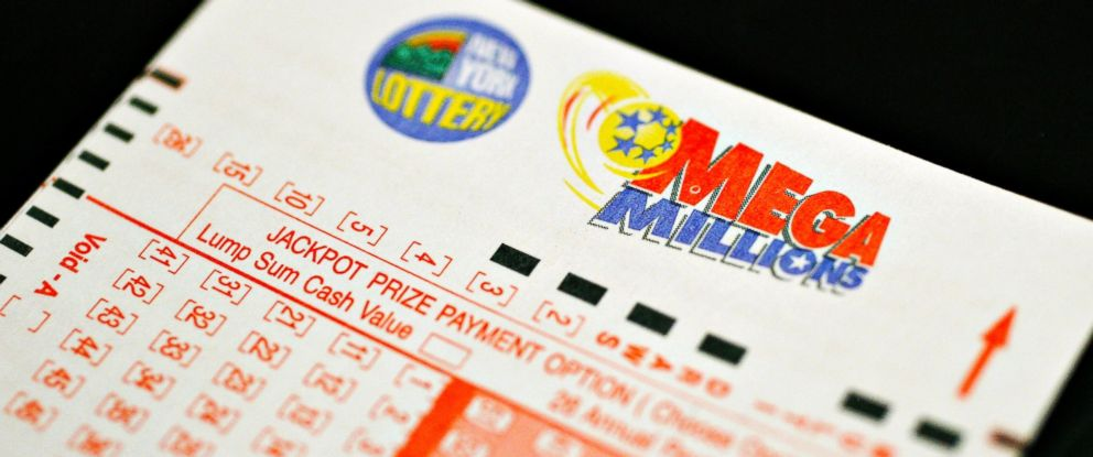 PHOTO: A Mega Millions lottery jackpot ticket on sale, March 6, 2007, in New York.
