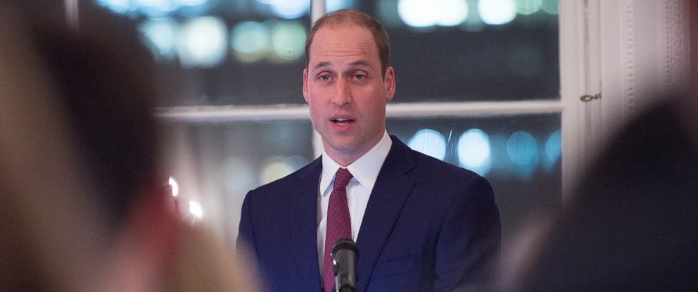 PHOTO: Prince William, Duke of Cambridge speaks at The Guild of Health Writers Conference with Heads Together at Chandos House on Feb. 6, 2017 in London.