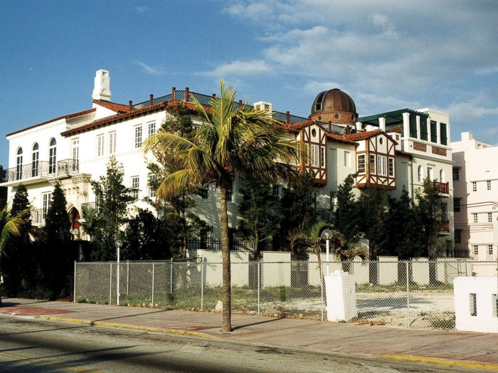 PHOTO: The Miami Beach home of Italian fashion designer Gianni Versace, July 15, 1997, where he was found slain.
