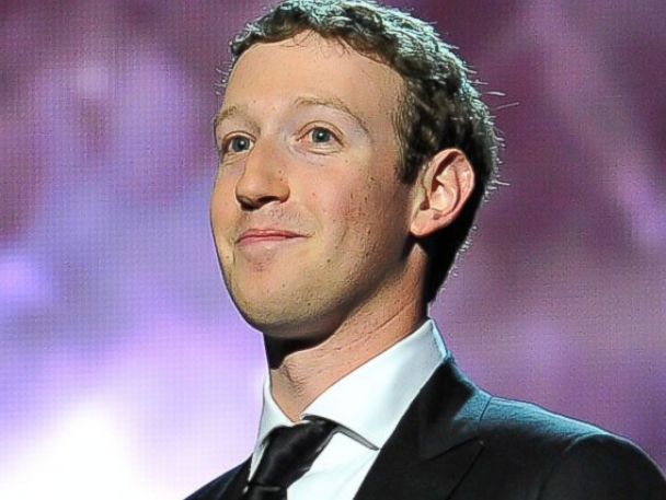 PHOTO: Mark Zuckerberg at the 2014 Breakthrough Prizes Awarded in Fundamental Physics and Life Sciences Ceremony at NASA Ames Research Center, Dec. 12, 2013, in Mountain View, Calif.