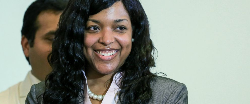 PHOTO: Amber Vinson is seen in this Aug. 1, 2014 file photo in Atlanta.