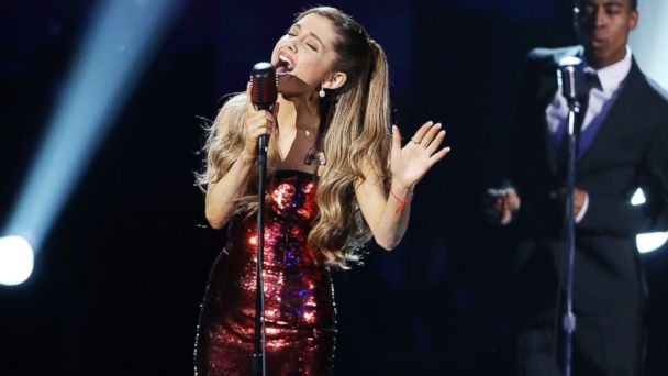 PHOTO: Ariana Grande performs onstage at the 2013 American Music Awards held at Nokia Theatre L.A. Live, Nov. 24, 2013 in Los Angeles.