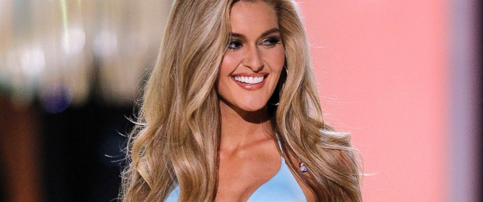 PHOTO: Miss Ohio USA Audrey Bolte competes in the swimwear competition during the 2012 Miss USA pageant at the Planet Hollywood Resort & Casino in this June 3, 2012 file photo in Las Vegas.