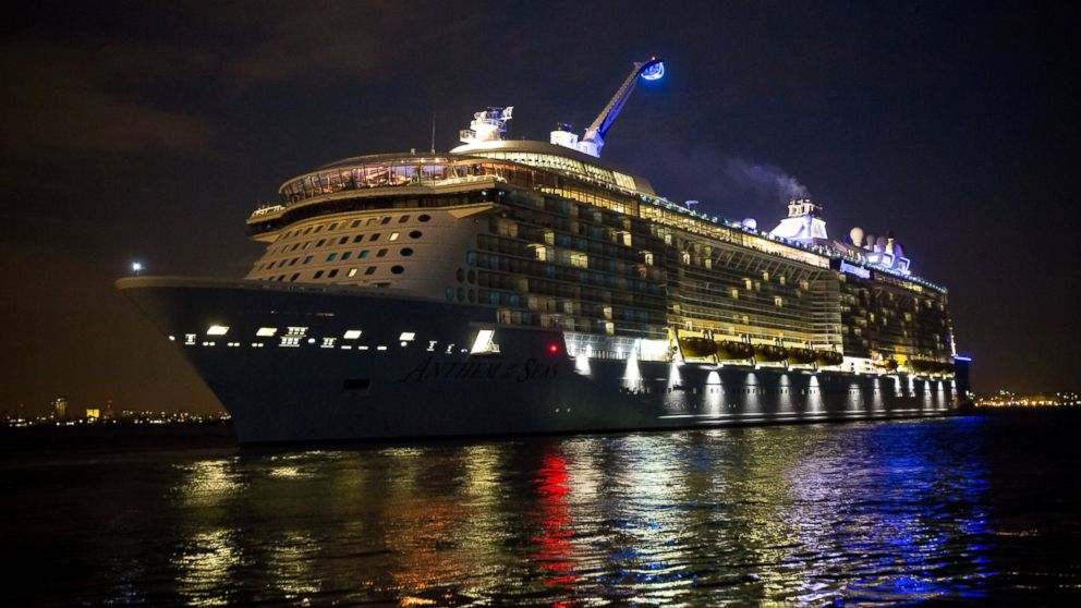 Royal Caribbean Cruise Ship Battered By Storm Arrives Back In New - Bayonne cruise ship terminal address