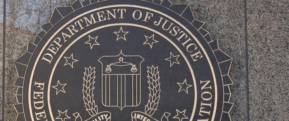 PHOTO: The J. Edgar Hoover Federal Bureau of Investigation (FBI) building crest is seen in Washington, March 18, 2011.
