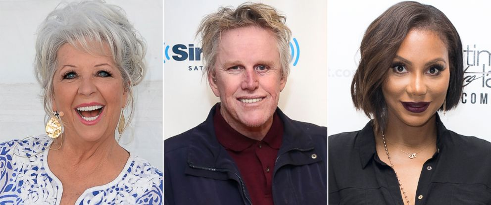 """PHOTO: Paula Deen, Gary Busey and Tamar Braxton will compete on the 21st season of ABCs """"Dancing With the Stars."""" The celebrity cast appeared on """"Good Morning America"""" on Sept. 2, 2015"""