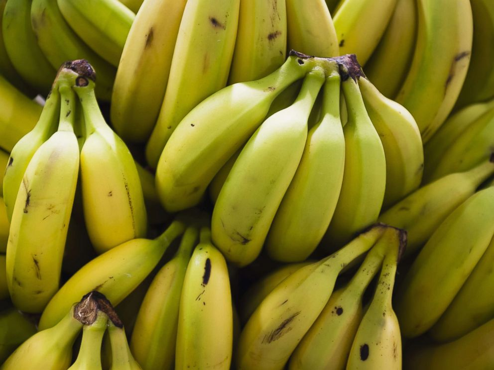 PHOTO:Bananas are pictured in an undated stock photo.