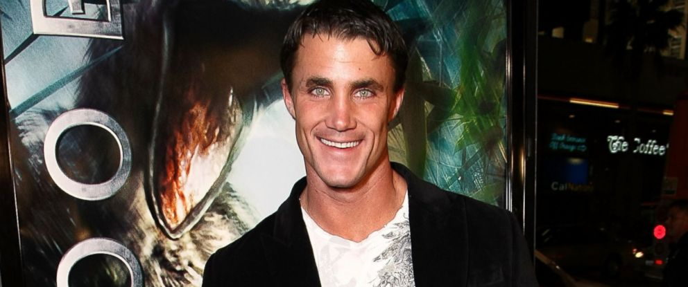 "PHOTO: Actor Greg Plitt arrives at the premiere of Warner Bros. Pictures ""10,000 B.C."" held at Manns Chinese theater, March 5, 2008 in Hollywood, Calif."