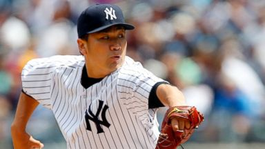 PHOTO: Masahiro Tanaka of the New York Yankees in action against the Oakland Athletics at Yankee Stadium, June 5, 2014, in the Bronx, New York.