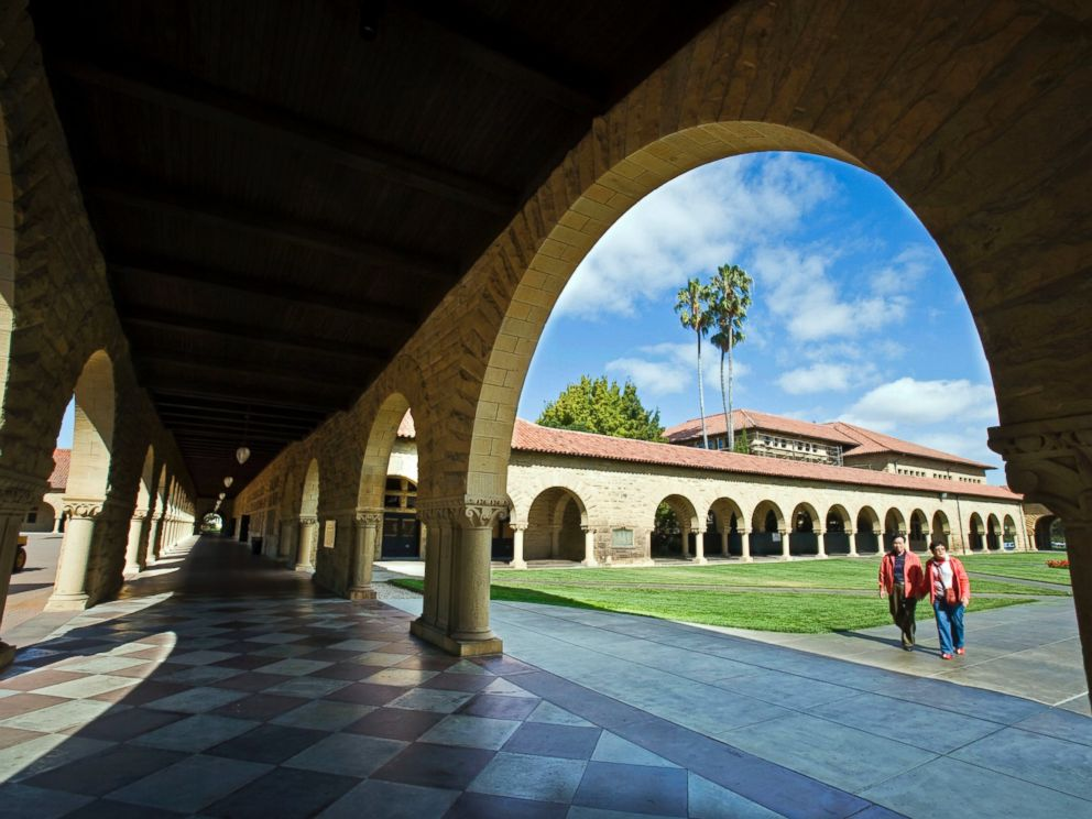 PHOTO: The Cour dHonneur of Stanford University in California, is pictured in this undated photo.