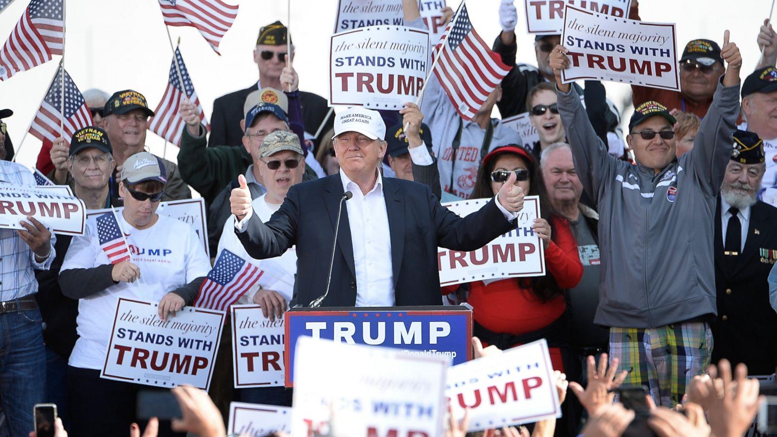 The Anatomy Of A Donald Trump Rally Abc News