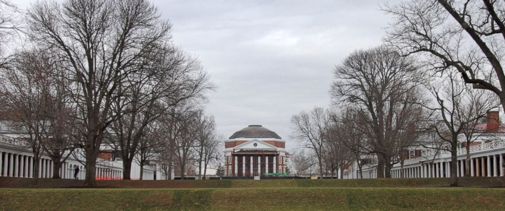 PHOTO: The University of Virginia campus is seen on December 6, 2014 in Charlottesville, Virginia.