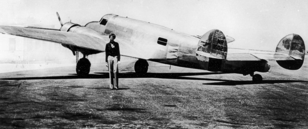 A History of Disappearing Flights: Amelia Earhart, The Bermuda