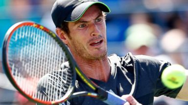 PHOTO: Andy Murray of Great Britain returns a shot against Robin Haase of the Netherlands during his mens singles first round match on Day One of the 2014 US Open at the USTA Billie Jean King National Tennis Center, Aug. 25, 2014