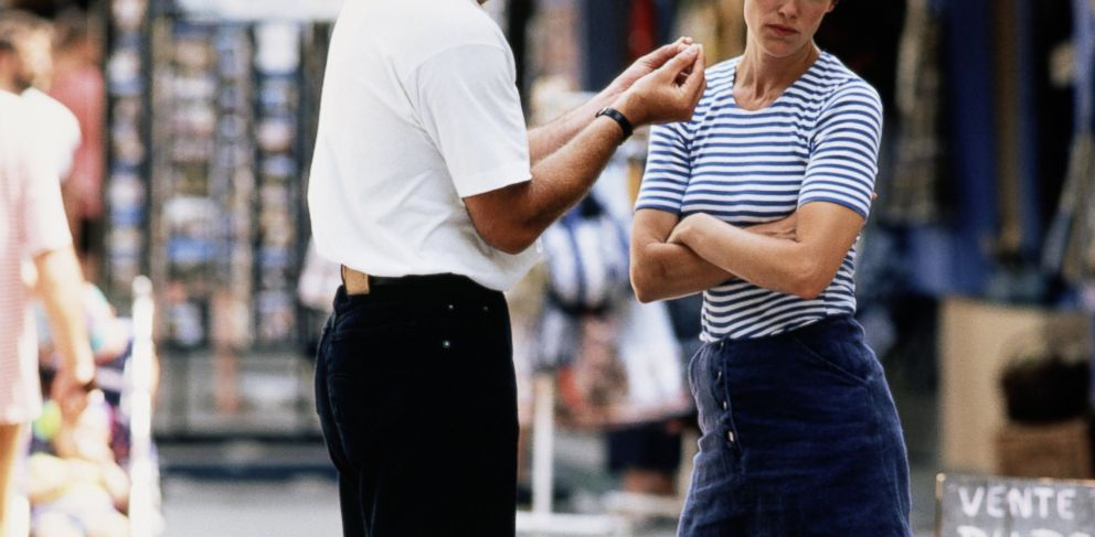 PHOTO: In some cities, it is illegal to willfully annoy another person.