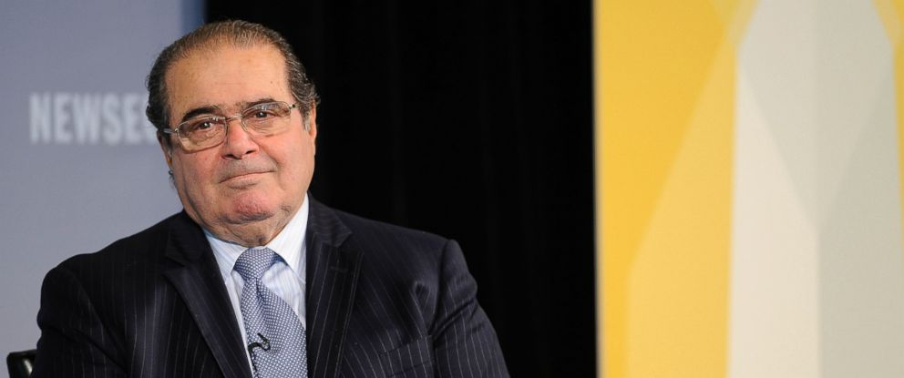 PHOTO: Supreme Court Justice Antonin Scalia speaks at the 2011 Washington Ideas Forum, Oct. 6, 2011 in Washington.
