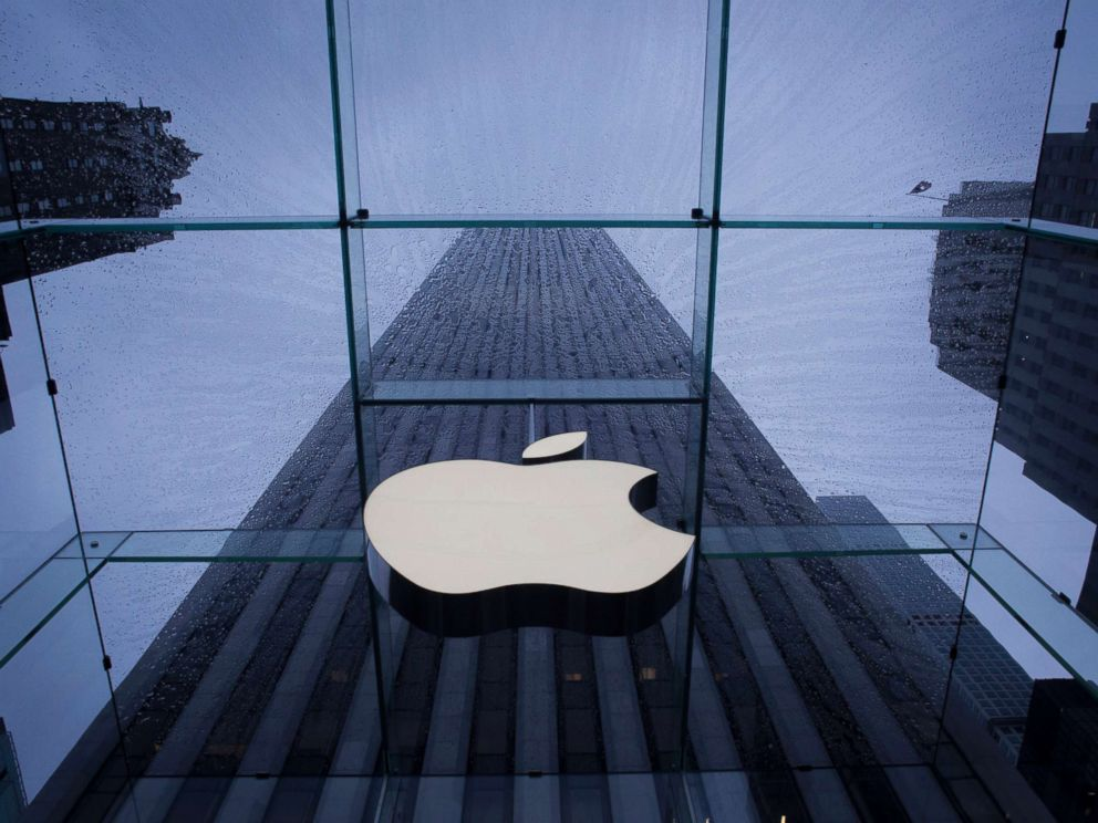 John Taggart  Bloomberg via Getty Images FILEThe Apple Inc. logo is seen at the entrance to a store in New York Sept. 10 2015