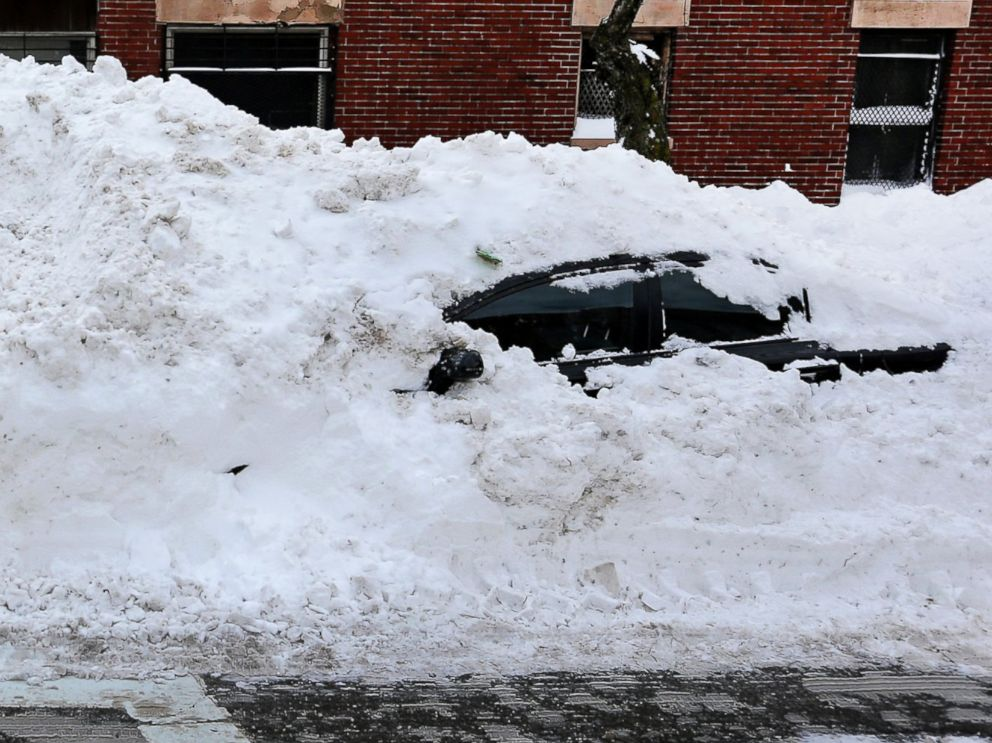 boston woman finally frees snow bound car after two months abc news 2006 Civic Si
