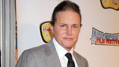 PHOTO: Bruce Jenner arrives at the All Sports Film Festival closing ceremony at El Portal Theatre, Nov. 11, 2013, in North Hollywood, Calif.