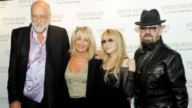 PHOTO: Mick Fleetwood, Christine McVie, Stevie Nicks and Dave Stewart attend the UK Premiere of Stevie Nicks: In Your Dreams at The Curzon Mayfair, Sept. 16, 2013, in London.
