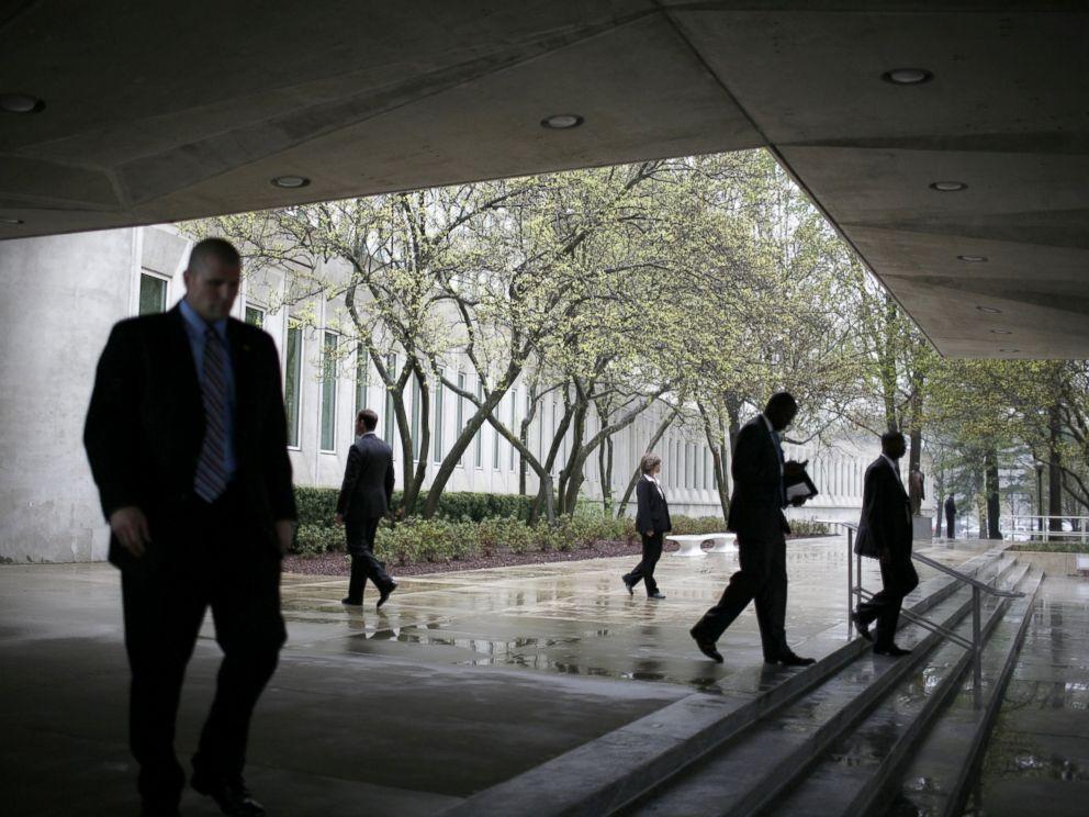 PHOTO: Outside CIA Headquarters in Langley, Va.