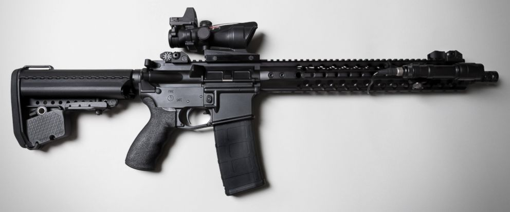 PHOTO: An AR-15 assault rifle is pictured in this undated stock photo.