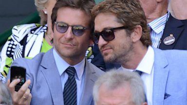 PHOTO: Cooper and Butler Attend Wimbledon Mens Final