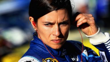 PHOTO: Danica Patrick, driver of the #10 Aspen Dental Chevrolet, looks on during qualifying for the NASCAR Sprint Cup Series Kobalt 400 at Las Vegas Motor Speedway, March 7, 2014 in Las Vegas.