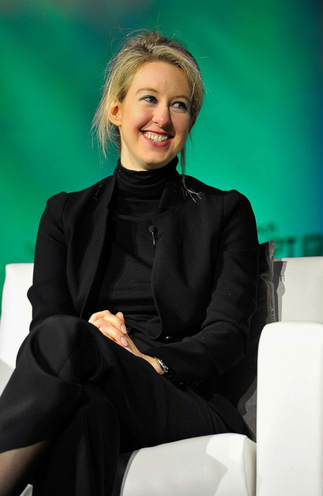PHOTO: Elizabeth Holmes, Chairman, CEO and Founder and Theranos