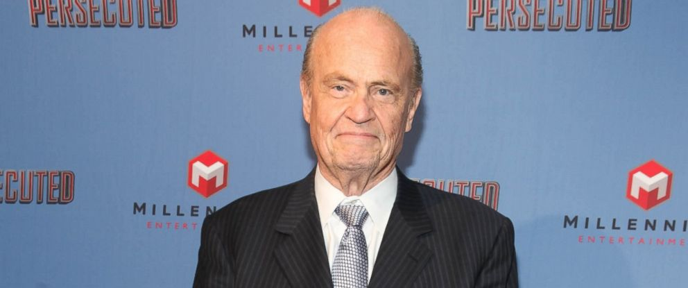 "PHOTO: Former Senator Fred Thompson attends ""Persecuted"" screening at Lighthouse International Theater in New York City, July 18, 2014."